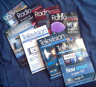 Television Viewer's Guide/Radio Listener's Guide: 2009-2012, 8 books
