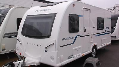 2017 Bailey Pursuit 430/4. Platinum. Fixed bed end washroom.