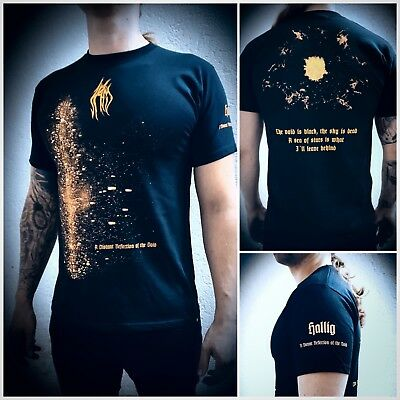 """HALLIG T-Shirt L """"A Distant Reflection of the Void"""" Dissection Opeth Uada Skogen"""