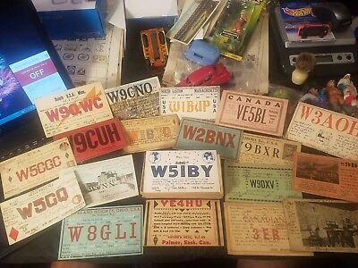 Mostly 1930 1931 QSL Cards. Over 80!