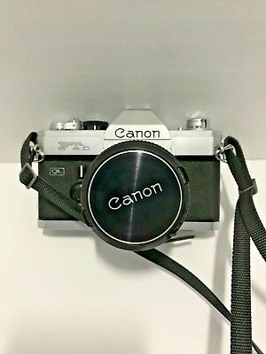 Canon FTb QL 35mm Film Camera with 50mm F1.8 lens