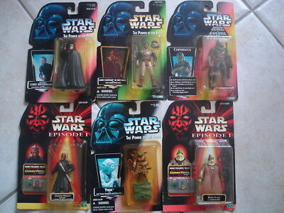 Star Wars lot Kenner the power of force Starwars