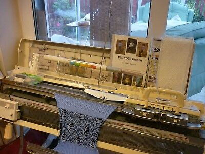 Brother 891 Knitting Machine  & 830 Ribber