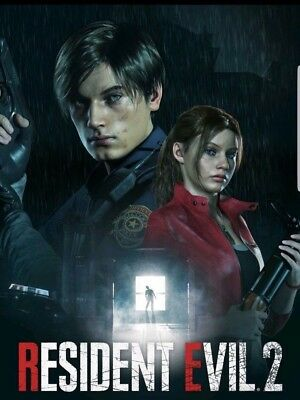 Resident Evil 2 RE:2 Remake PC Game Steam Code Key