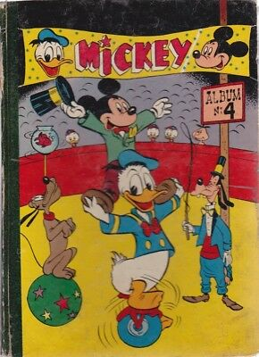 MICKEY MAGAZINE ALBUM N°4 (1952) N°79 à N°104