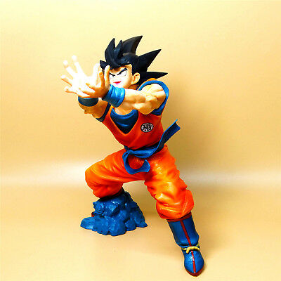 "BP DragonBall Z  DBZ  god goku PVC Statue FIGURE 3/"" LOOSE #J8"