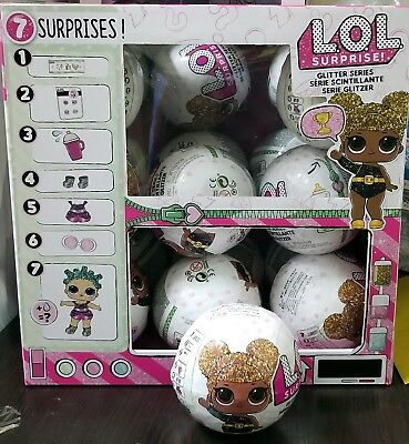 1pc ( 1 Ball / Doll ) Authentic LOL Surprise Doll Glitter Series 1