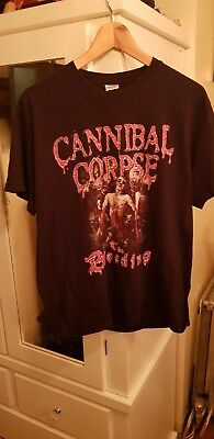 Mens cannibal corpse t shirt - The Bleeding, size L