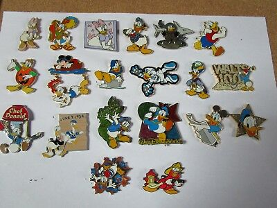 20 Pin's disney, Donald