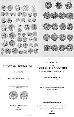 Grand collection (180+ books) of catalogs of Greek and Roman coins on DVD