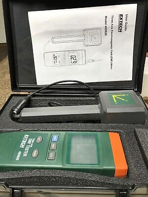 Extech Triple Axis EMF Tester 3-axis 480826 measure