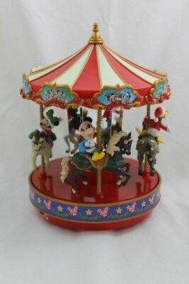 Mr. Christmas Disney Carousel Merry Go Round Mickey Mouse And Friends 2014