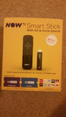 now tv smart stick with hd & voice search plus sky cinema 2 months pass and sky