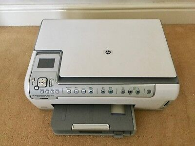 HP PHOTOSMART C5180 All In One colour printer, scanner, copier with ethernet
