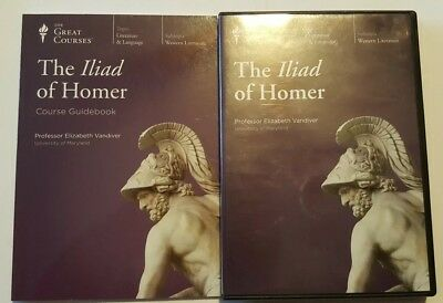 GREAT COURSES: The Iliad Of Homer CD's And COURSE GUIDEBOOK