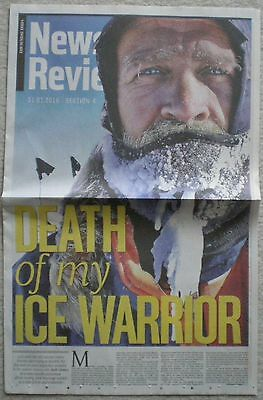 Henry Worsley – Sunday Times News Review – 31 January 2016
