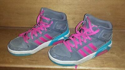 info for f2f30 ec545 Baskets Montante Adidas 36 Rose   Grise Fille