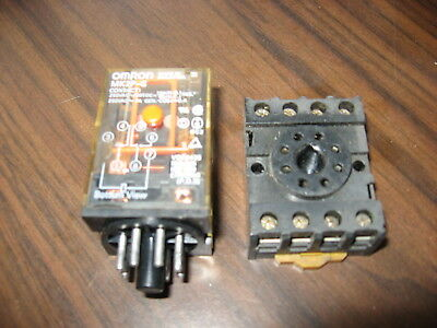 dayton 5x824e cube relay with base (8 pin round, 120 vac coil ... octobase 8 pin relay diagram  picclick