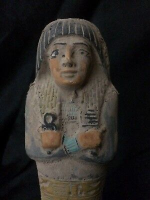 ANCIENT EGYPTIAN ANTIQUITIES USHABTI Statue SHABTI Stone EGYPT Shabties -1759 BC