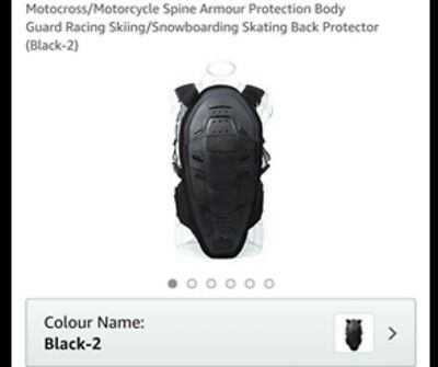 Motorcycle/motocross armour protection body guard...