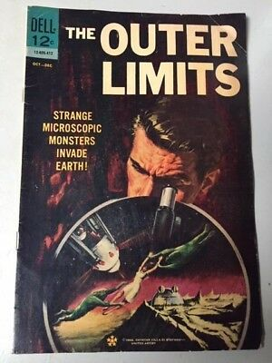 Vintage Comic Book 1964 The Outer Limits Dell