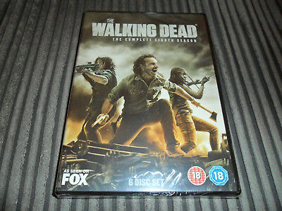 The Walking Dead - The Complete Eighth Season. DVD. Brand-New & Sealed.