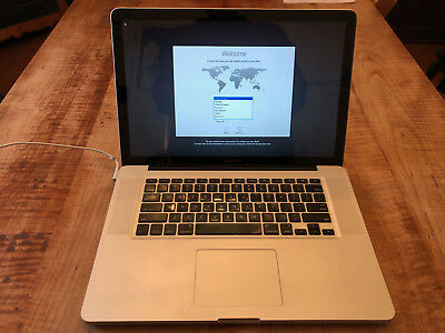 "Apple Notebook MacBook Pro 15"" Intel 2.53GHz 4GB Memory 500GB HDD Yosemite"