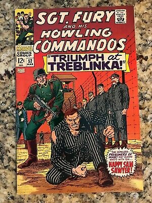 Sgt. Fury And His Howling Commandos #52 Vf 8.0 / Marvel Comic