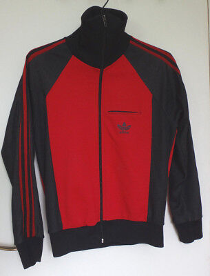 Adidas Vintage Size S Jacket Black And Red Blood Goth No Size Unisex 3 Stripes