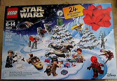 Lego Star Wars 307 pcs. 24 Gifts Christmas Set