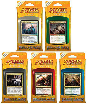 Dragon's Maze Intro Pack Set of Five (OVERSTOCK) (ENGLISH) SEALED MAGIC ABUGames