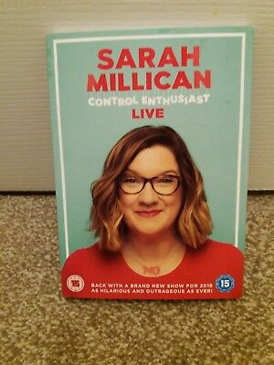 Sarah Millican Control Enthusiast Live DVD 2018 excellent condition.