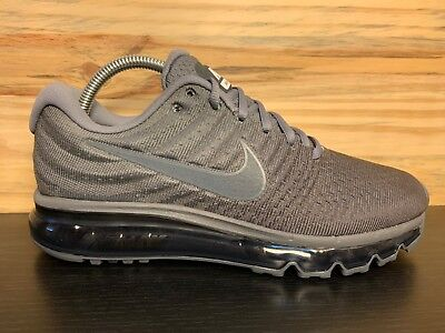 Nike Air Max 2017 Men's Running Shoes Cool Grey Anthracite Size 10.5  849559-008