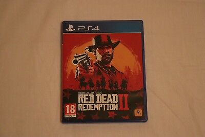 Red Dead Redemption 2 (PlayStation 4, 2018); Barely Used Played Through Once PS4