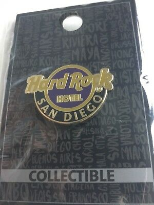 Hard Rock Cafe Pin San Diego Hotel Classic Logo Pin