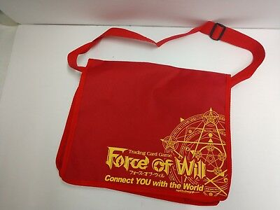 Force of Will TCG Canvas Tote Bag Promo Messanger Bag Sealed FOW SWAG