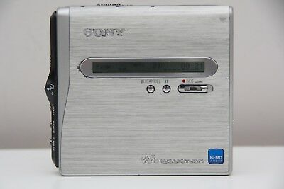 Sony Hi MD MZ NH1 MiniDisc Player Works Perfect Bare Unit Only