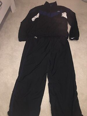 Lacoste Black And Blue Tracksuit