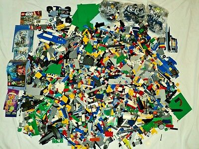 Huge Bulk Lot of LEGO 20 Lbs Pounds Assorted Sets Bricks Wheels Specialty Parts