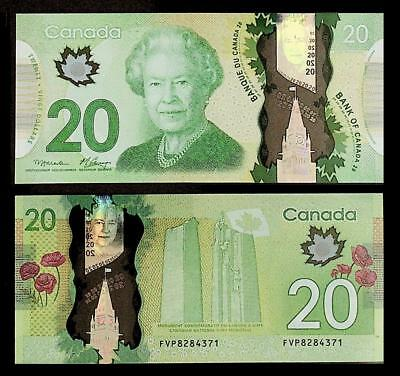 [77364] Canada 2012 20 Dollars Polymer Bank Note UNC P108a
