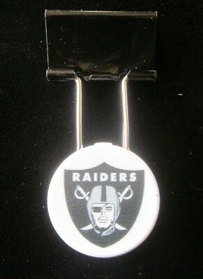 OAKLAND RAIDERS Ray Guy Hall of Fame clip STADIUM PROMOTION Coliseum RARE  old 597d1df42