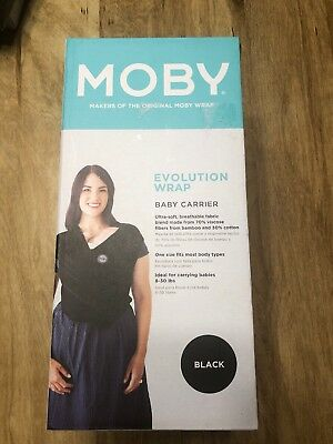 Moby Baby Wrap Evolution New Open Box.