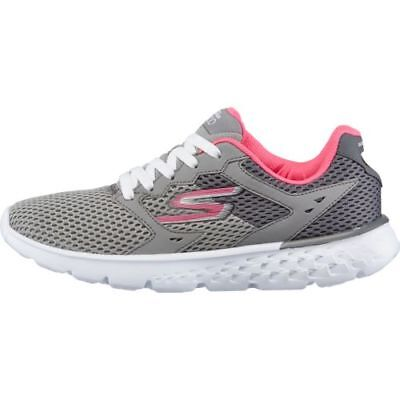 Skechers Performance Women's Go Run 400 Running Shoe Charcoal Hot Pink 11 WIDE