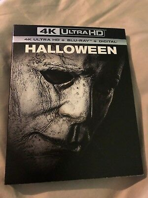 Halloween 4K Ultra HD + Blu-Ray + Digital HD Brand New Sealed