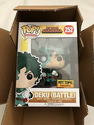 New Funko Pop! Animation My Hero Academia DEKU (BATTLE) Hot Topic EXCLUSIVE 252
