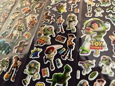 TOY STORY Buzz Lightyear Stickers 12 Packs 4 Different 3 Of Each PARTY BAG GIFT