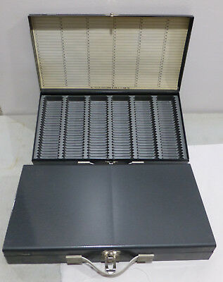 2 Logan 110-115-1500I DeLuxe 2x2 Metal Slide Coin Storage Case Box File Tray 150