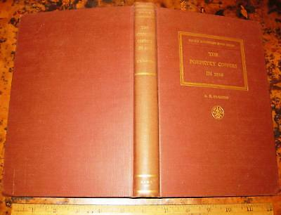 THE PORPHYRY COPPERS IN 1956 by AB Parsons 1st ed 1957 Mines Mining Ariz & Utah