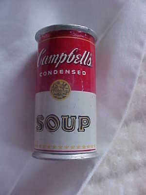 Rare vintage Miniature Campbell's soup can advertising Tube Style Lighter