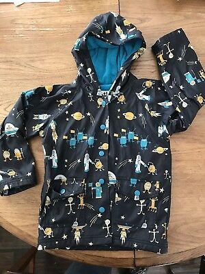 Hatley 4T Raincoat - Boy's - Outer space